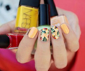 nails, nars, and summer image