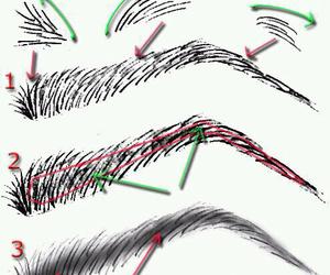eyebrows, diy, and tutorial image