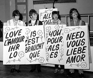 the beatles, love, and beatles image