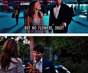 love, flowers, and funny image