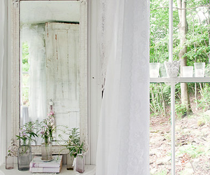 shabby chic, white, and flowers image