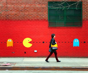 pacman and Pac Man image