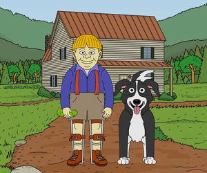 cartoon and mrs pickles image