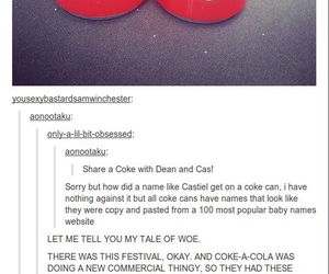 dean, fandom, and supernatural image