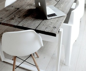white, interior, and apple image