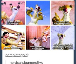 funny, sid, and ice age image