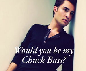 bass, chuck, and gossipgirl image