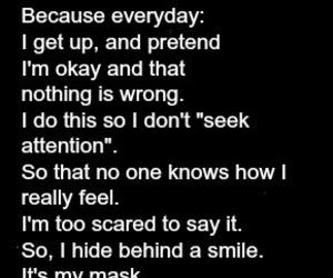 sad, depression, and depressed image