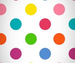 polka dot and wallpaper image
