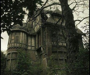 abandoned, dark, and horror image