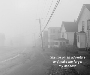 adventure, sadness, and quotes image