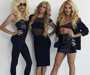 drag queen, willam belli, and courtney act image