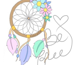 flowers, overlay, and be free image