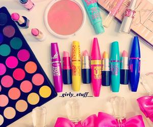 colorful, make up, and perfume image