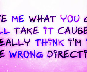 Lyrics, the downtown fiction, and you were wrong image
