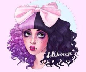 melanie martinez, dollhouse, and drawing image