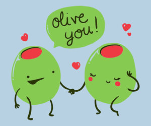 lol that's what i say and i love olives image