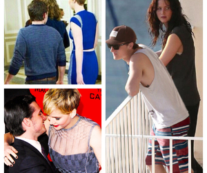 boy girl, couple, and Jennifer Lawrence image