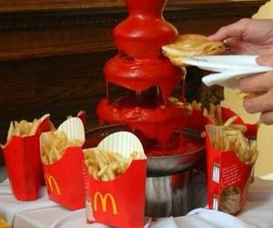 food, McDonalds, and ketchup image