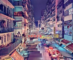 city, china, and hong kong image