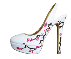 blossom, cherry, and high heels image