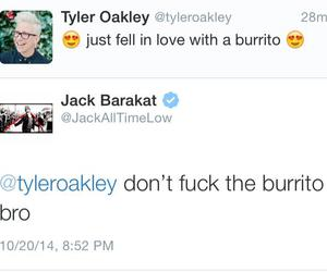 all time low, burrito, and jack barakat image