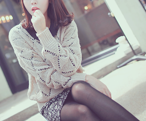asian, girl, and style image