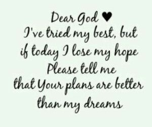 god, Dream, and quote image