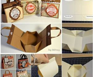 diy, bag, and gift image