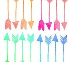 arrow, overlay, and colorful image