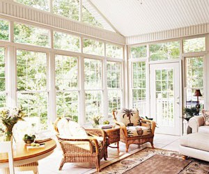 sunroom furniture, furniture for sunrooms, and decorating sunrooms image