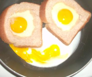 breakfast, smiley, and food image