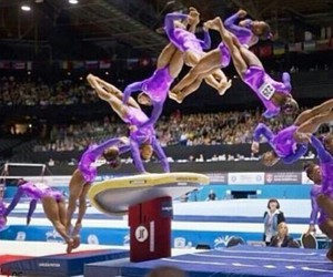 gymnastics and yurshenko image