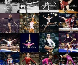gymnastics, championne, and gymnastes image