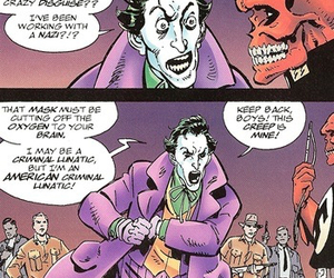 funny, comic, and joker image