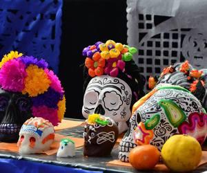 day of the dead, dia de muertos, and mexico image