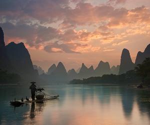 nature, china, and water image