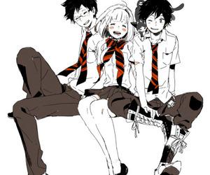 rin, yukio, and ao no exorcist image