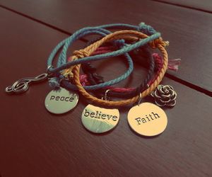 believe, peace, and faith image