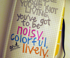 quote, colorful, and life image