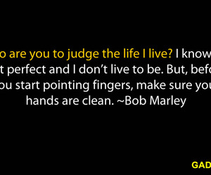 bob marley, life, and quote image