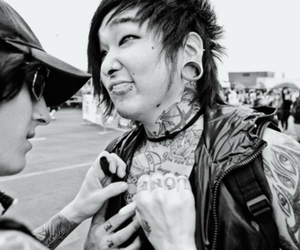 falling in reverse and mika horiuchi image