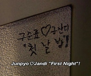 ♥, jandi, and junpyo image