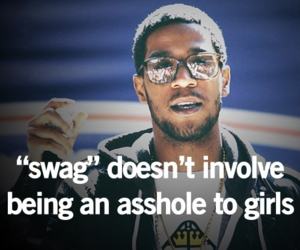 swag, asshole, and quote image