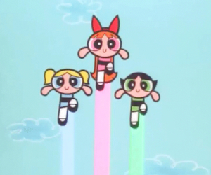 ppg and パワーパフガールズ image