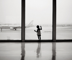 airport and airplane image