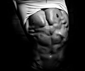 fitness, healthy, and men image