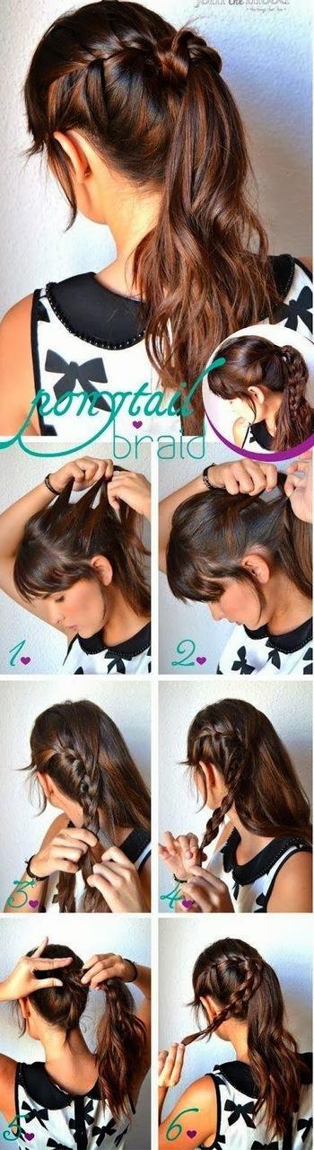 Coiffure Facile Cheveux Long Faire Soi Meme Photo Coiffure Simple Coupe Cheveux Simple