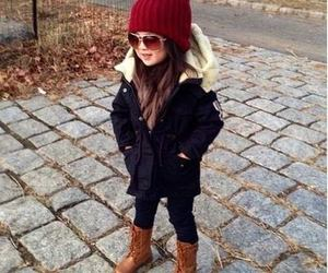 fashion, kids, and winter image