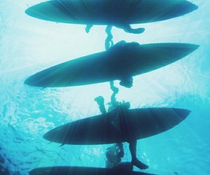 surf, summer, and ocean image